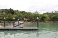Pulau Jerejak 的码头