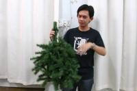 收拾圣诞树