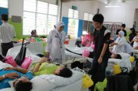 爱心三合一:捐血运动
